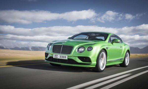 2016 Bentley GT Speed driving 1