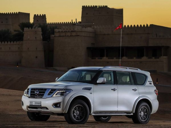 Rent a 2016 Nissan Patrol Desert Edition 2 in Dubai
