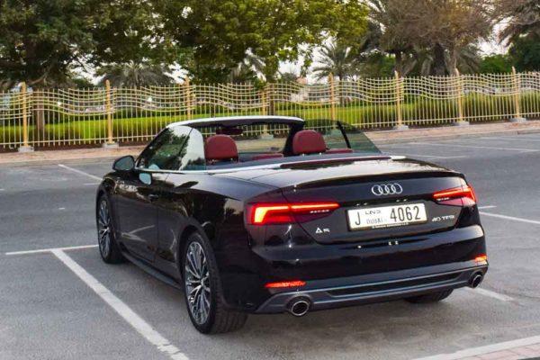 Rent Audi A5 in Dubai 3