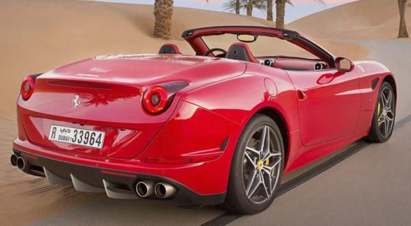 Rent Ferrari California T Dubai