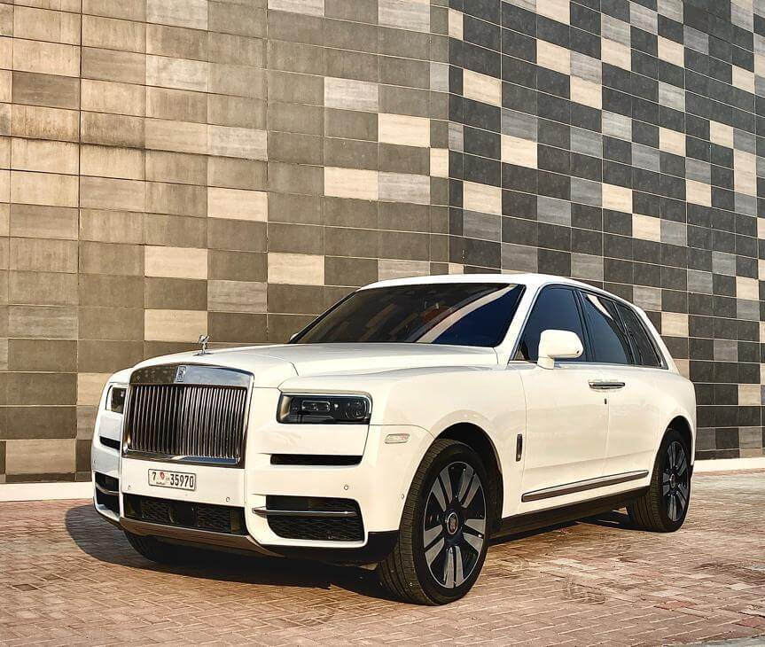 Rent Rolls Royce Cullinan in Dubai 01