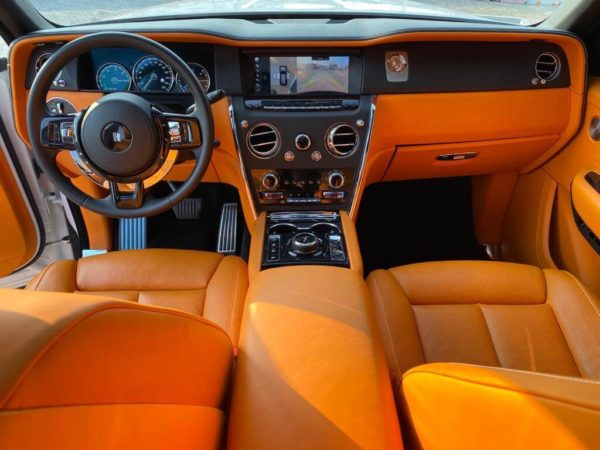 Rent Rolls Royce Cullinan in Dubai 03