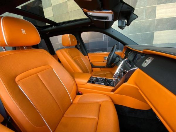 Rent Rolls Royce Cullinan in Dubai 02