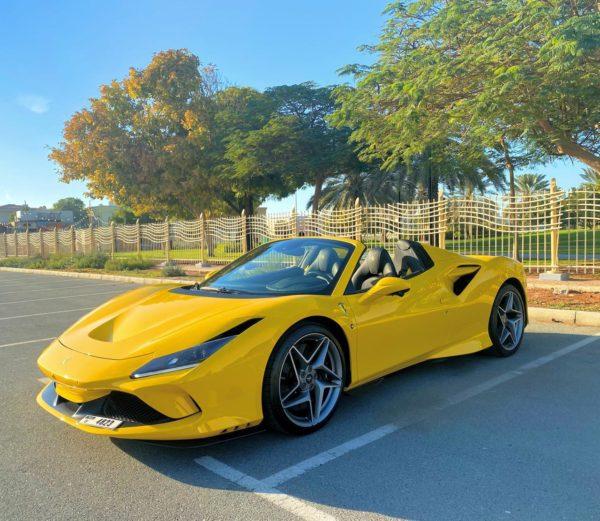 Rent Ferrari F8 in Dubai