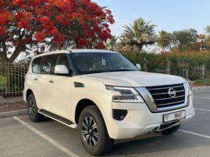 Nissan Patrol White 2021
