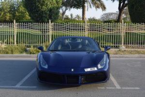 Ferrari 488  Паук синий
