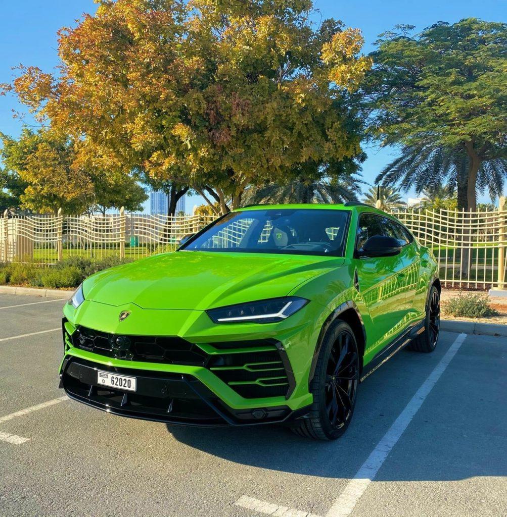 Lamborghini URUS 2021 Green