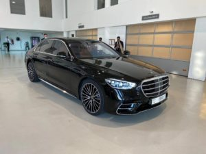 Mercedes S Class Black 2021