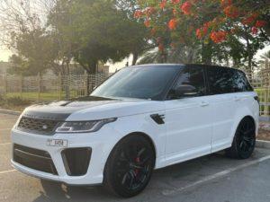 Range Rover SVR 2021