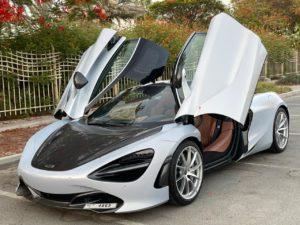McLaren 720S Grey