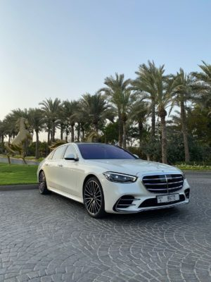Mercedes S 500 White 2021
